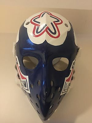 vintage goalie mask