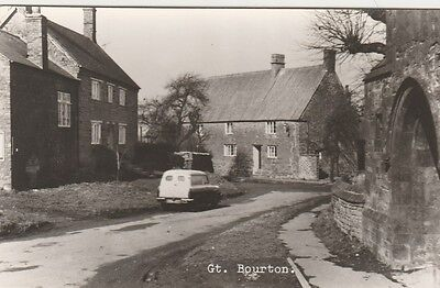 Gt  Bourton  In  Oxfordshire   Postcard  2