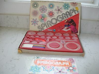 vintage Kenner Spirograph #1421 original pens & instructions 1979
