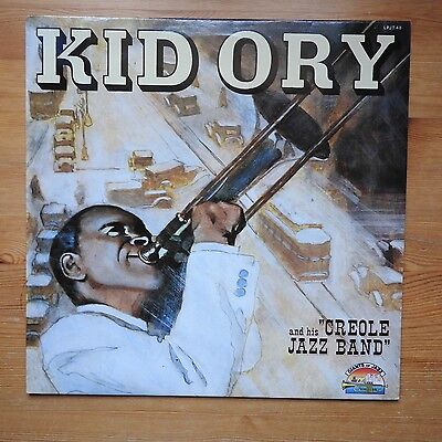 Kid Ory and his Creole Jazz Band  LP vinyl Giants of Jazz (1986)  Ex/Ex