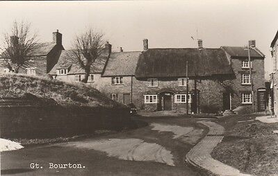 Gt   Bourton   In  Oxfordshire  Postcard