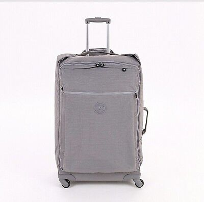 Kipling Darcey L 89 litres cool grey luggage suitcase spinner 4 wheel trolley