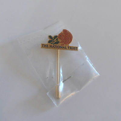 The National Trust - Collectable Lapel Pin 'squirrel' Badge