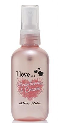 I Love... Strawberries & Cream Refreshing Body Spritzer 100ml
