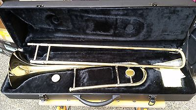Fontaine Trombone in hard case barely used great cond. freight approx $35 - $40.