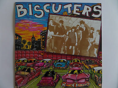 BISCUTERS  LP 1990 La Rosa Records (MALAGA) POP ROCKABILLY
