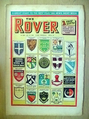 Comic- THE ROVER, No.1540, 1 January 1955