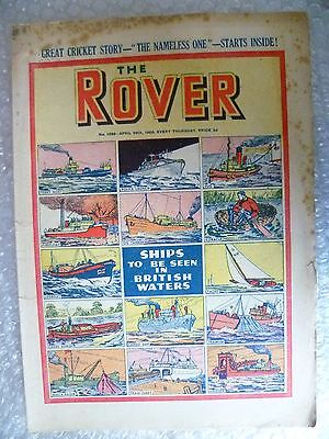 Comic- THE ROVER, No.1296, 29th May 1950 ; Sport and its Speed