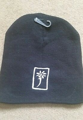 james the band tim booth embroidered beanie hat white logo