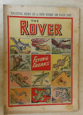 Comic-THE ROVER, No.1273, 19th November 1949- FLYING FREAKS