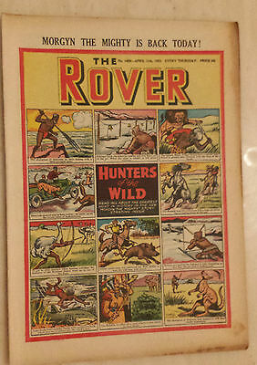 THE ROVER, No.1450, 11th April 1953 - HUNTERS OF THE WILD