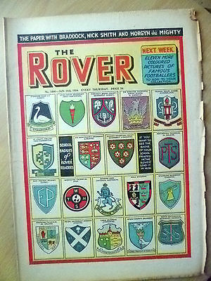 Comic- THE ROVER, No.1490, 16 January 1954