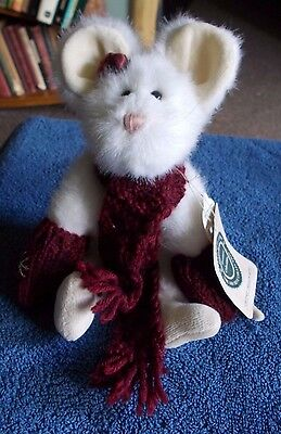"Boyds Bears & Friends Chutney Cheeseworthy Mouse 9"" Plush Stuffed Soft Toy"