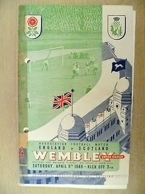 1949 International Match- ENGLAND v SCOTLAND, 9 April 1949 (Org* )