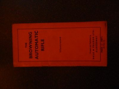 Ww2 The Browning Automatic Rifle Manual