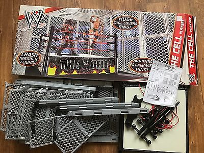 Mattel WWE The Cell Play set Complete With Original Box VGC