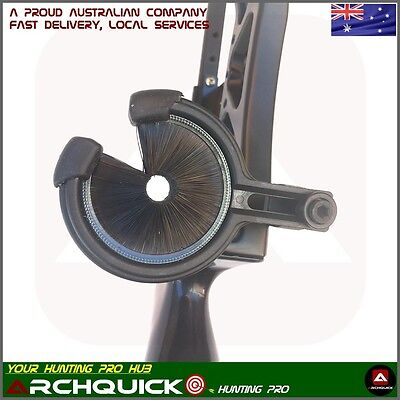 New Full Brush Arrow Rest for Compound Bow Hunting Archery Adjustable R/L Hand