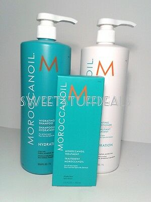Moroccanoil Hydrating Shampoo & Conditioner 33.8oz/ 1L Combo