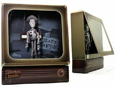 TOY STORY Woody Collector Woody's Round Up Budtone Fernseher TV V0932