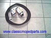(2) New  (High Quality) Tire - Inner Tubes  2.25x17   Honda Hobbit  225x17  PA50