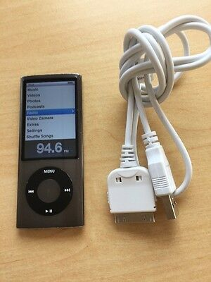 Apple iPod Nano 5th Generation Black (8GB)