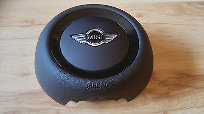 Original Driver Airbag Bmw Mini Cooper One R55 R56 R57 R58 R59 R60 3 Spoke Rare