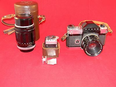 Canon R2000 Camera with Meter and extra Lens L@@K!!!
