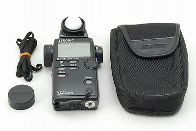 【EXC+++++】 Sekonic L-508 Zoom Master Digital Light Meter w/ Case from Japan