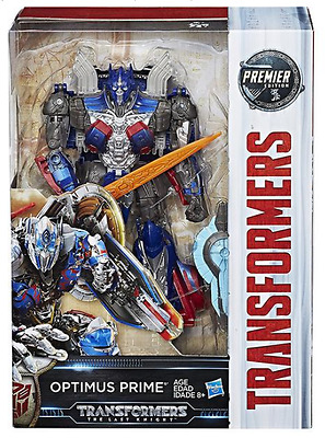Transformers The Last Knight Premier Edition Voyager Optimus Prime