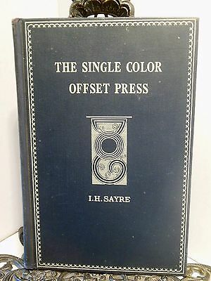1948 BOOK  The Single Color Offset Press Harris Seybold Potter Webendorfer Chief
