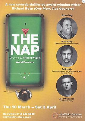 "Jack O'Connell stars in the play "" The Nap"" Crucible Theatre Sheffield 2016"