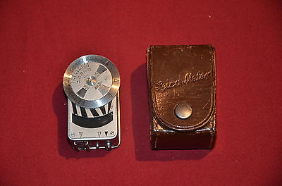 Vintage Leica Metraphot Light Meter  w/ Leather Case