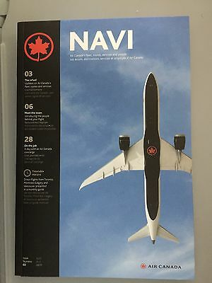Air Canada NAVI Magazine Book