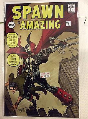 Spawn 221 near mint free shipping