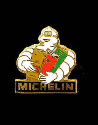 Michelin Man lapel pin