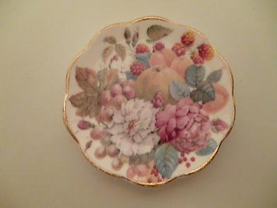Small Collector Plate 'Fenton China Company' Fruit/Flowers