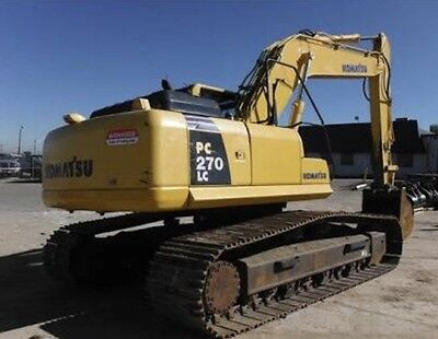 Komatsu PC270 2011 LC-8 INCLUDES3x Bucket + Grabs, 1 Owner Excellent Condition