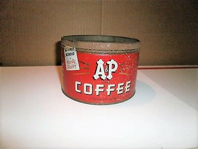 Vintage A & P Brand Coffee 1 Pound Can