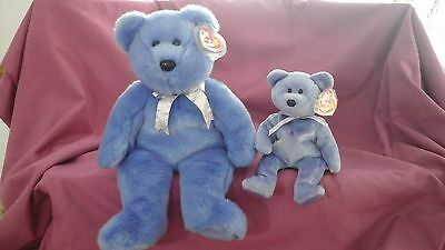 TY Beanie baby buddy  Clubby II and matching beanie