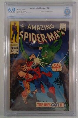 The Amazing Spider-Man #49 CBCS 6.0 6th Appearance Kraven Vulture Marvel