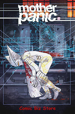Mother Panic #8 (2017) 1St Printing Dc Young Animal Bagged & Boarded