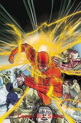 Flash #25 (2017) 1St Printing Dc Universe Rebirth Bagged & Boarded
