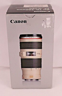 Canon EF 70-200mm f/4L IS USM Lens With Special Promotional Bundle New in Box