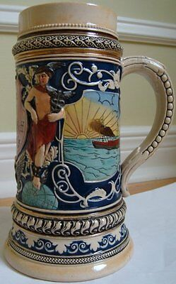 Antique Beer Stein, Industrial age