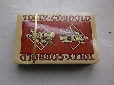 Complete Sealed Pack of Tolly Cobbold Brewery Playing Cards