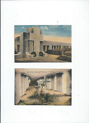 Bayonets' Trench's Monument  - Tranchee Des Baionnettes 2 Cartes Postale