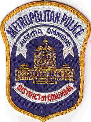 Patch Metropolitan Police District Of Columbia (District Of Columbia)