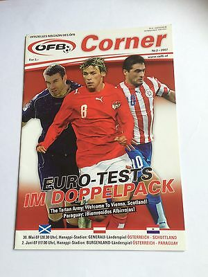 Austria v Scotland Friendly 2007