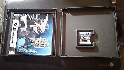 POKEMON BLACK VERSION 2 DS - Mint & Complete - Nintendo DS