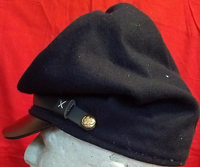 Forage Hat Bummer Cap Union Army Navy Blue US Civil War Reenactors XLG USA Made